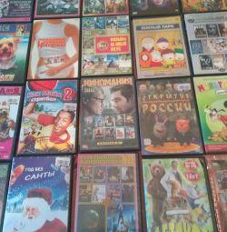 DVD çizgi filmler ve çeşitli