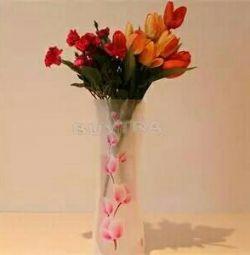 Foldable vase