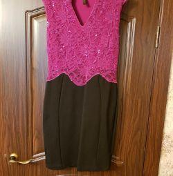 Το φόρεμα είναι εορταστικό. Μέγεθος 46-48