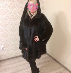 Beautiful mink coat, 46-48 rr