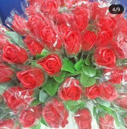 Τριαντάφυλλα σαπουνιού