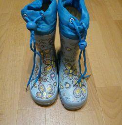 Παπούτσια, μπότες από καουτσούκ