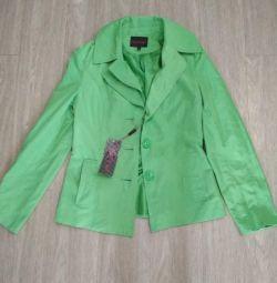 Ветровка-пиджак новая