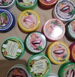 Pasta de dinti. Produse cosmetice thailandeze