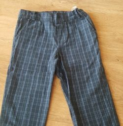 Stylish trousers for the boy 98r 2-3g