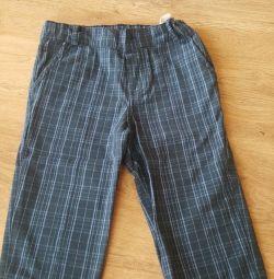 Κομψά παντελόνια για το αγόρι 98r 2-3g
