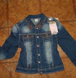 Jachetă nouă de denim