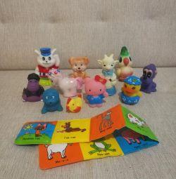 Резиновые игрушки для купания