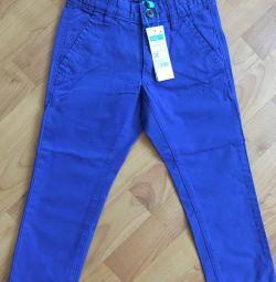 Νέο Jeans Benetton 3-4 χρόνια