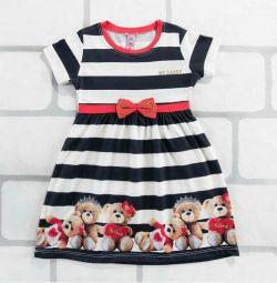 Dress with bears