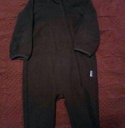 Fleece overalls LASSIE 74r.