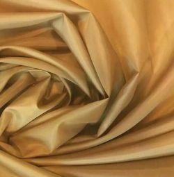 Lining taffeta fabric, shir. 150 cm