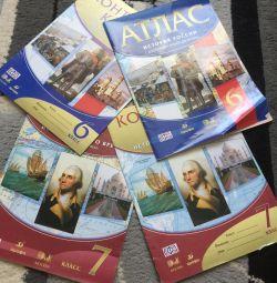 Atlas and contour maps history