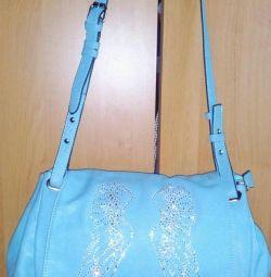Geantă albastră elegantă