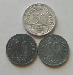 Monede din Germania.