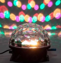 Disco ball with a flash drive and remote control
