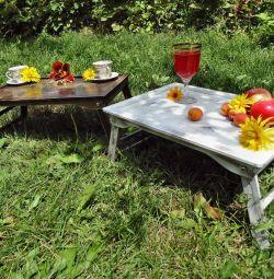 Столик-піднос для сніданку або пікніка!