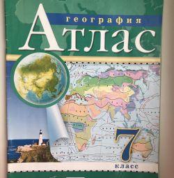 Atlas on geography grade 7