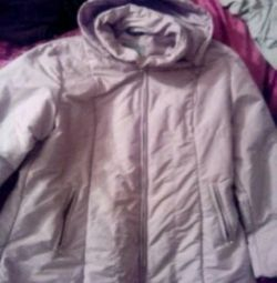 Second-hand jacket on the 50th size.