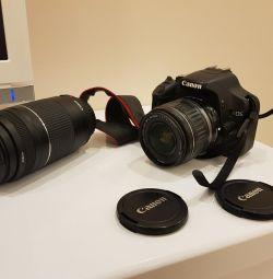 Kamera + lens.
