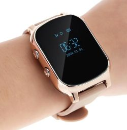 🔥 Часы Smart GPS Watch T58 Gold Новые