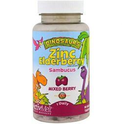 KAL, ActivMelt Zinc-elderberry, assorted berries, 90pcs