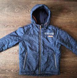 Куртка зимова (розмір 116см)