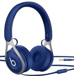 Blue headphone beats EP