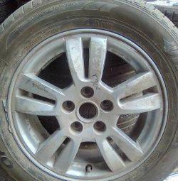 Chevrolet Aveo (T300) 2011, τροχός αλουμινίου, 95040750