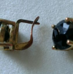 Vintage earrings. The times of the USSR.