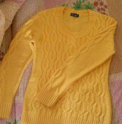 Pulover galben pentru femei 42-44p