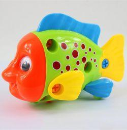 Collapsible Designer Fish 11.5x18x9cm