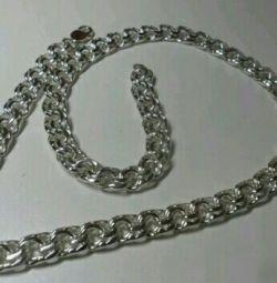 ?Men's silver chain Bismarck 150 grams?