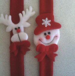 Χριστουγεννιάτικα βραχιόλια (4pcs 500r)