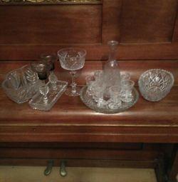 кришталева посуд