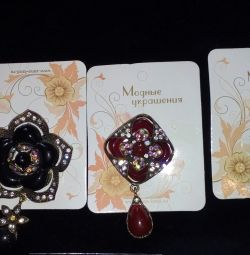 Brooches (new)