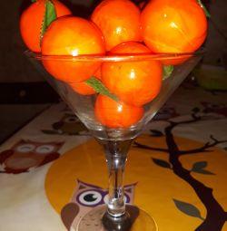 Vază cu mandarine