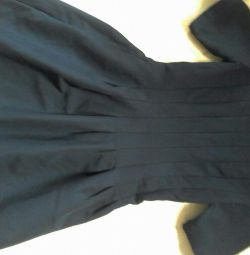 School dress, dark blue color. 42 size