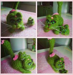 Kaktüsler kediler