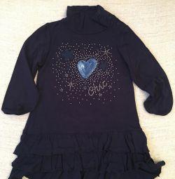 Pixel φόρεμα για ένα κορίτσι 2 ετών
