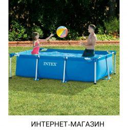 Pool frame INTEX 220 * 150 * 60; 300 * 200 * 75
