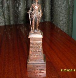 статуэтка петр 1 бронза