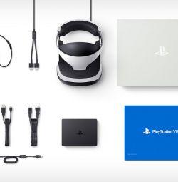 PS4 VR helmet + many games + Move