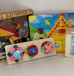 Νέο εκπαιδευτικό πακέτο ξύλινων παιχνιδιών
