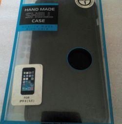 Θήκη IPhone 6+ και γυαλί