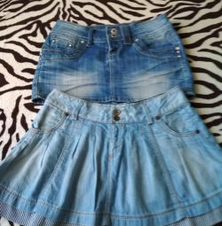 Skirts Denim