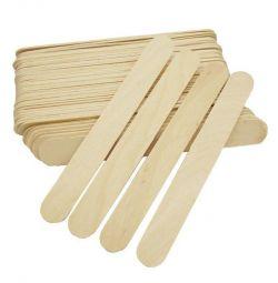 Дерев'яні шпателі 100шт (2 види)
