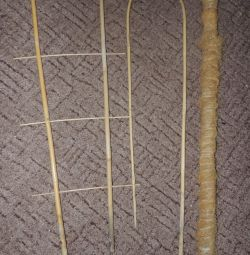 Supports for bamboo flowers