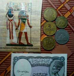 Bancnote, monede Egipt