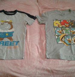 Tricouri pentru un băiat de 8-10 ani